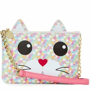 Betsey Johnson KITTY CROSSBODY CONFETTI
